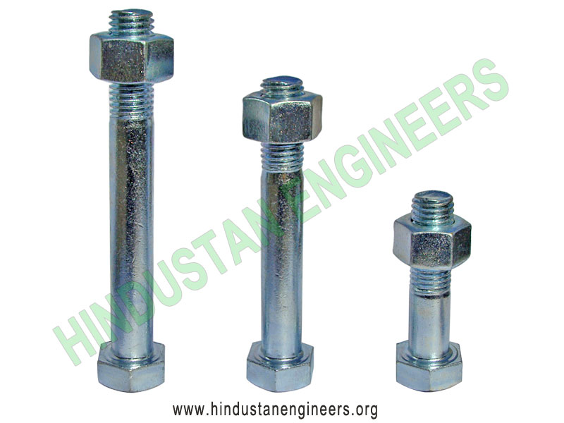 Hex Head Bolts manufacturers exporters suppliers in India