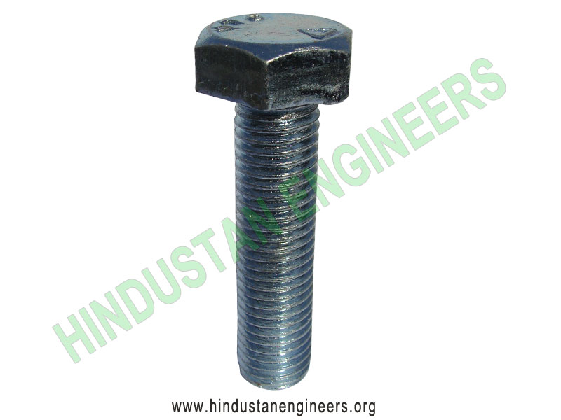 Hex Head Machine Bolt manufacturers exporters suppliers in India