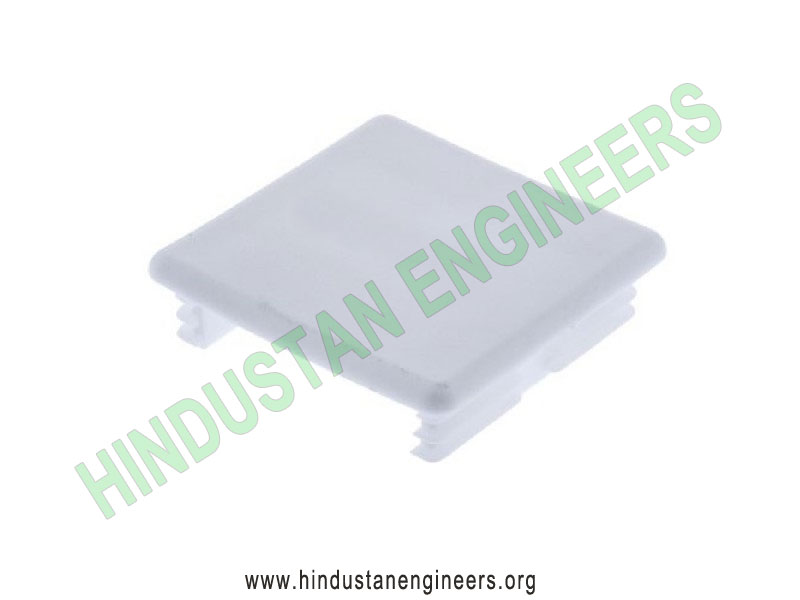 Channel PVC End Cap (41X41) manufacturers exporters suppliers in India