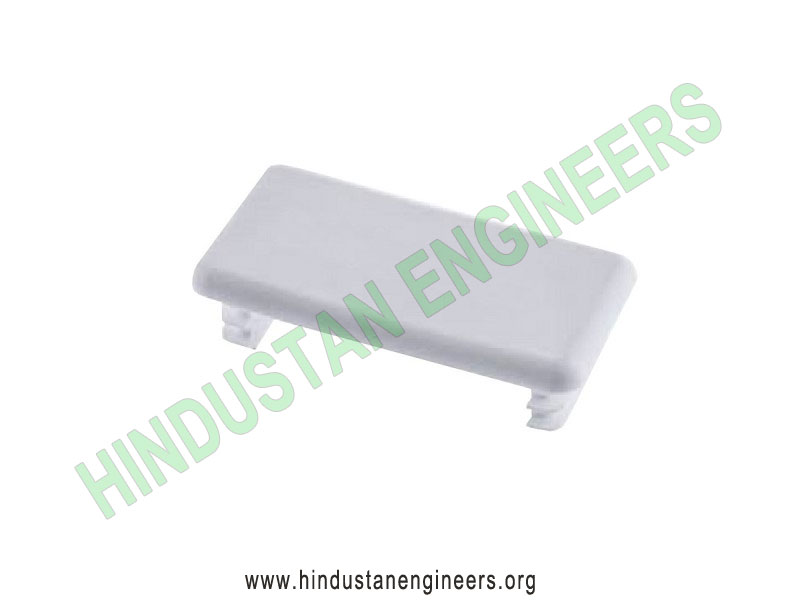 Channel PVC End Cap (41X21) manufacturers exporters suppliers in India