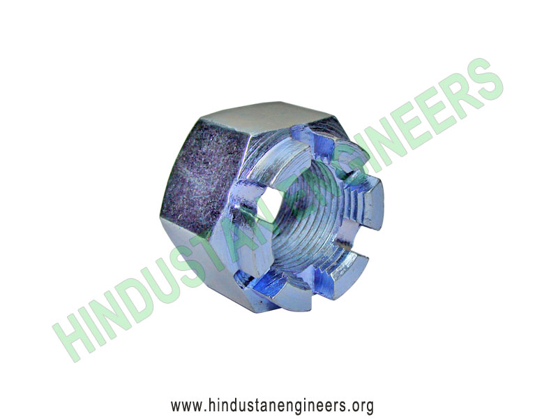Castle Nut manufacturers exporters suppliers in India