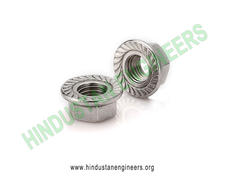 Flange Nut manufacturers exporters suppliers in India