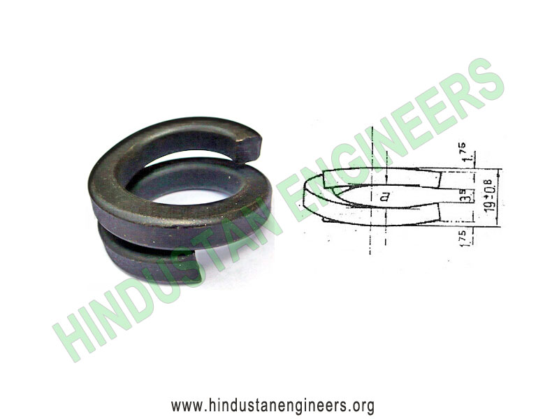 Double Coil Spring Washer manufacturers exporters suppliers in India